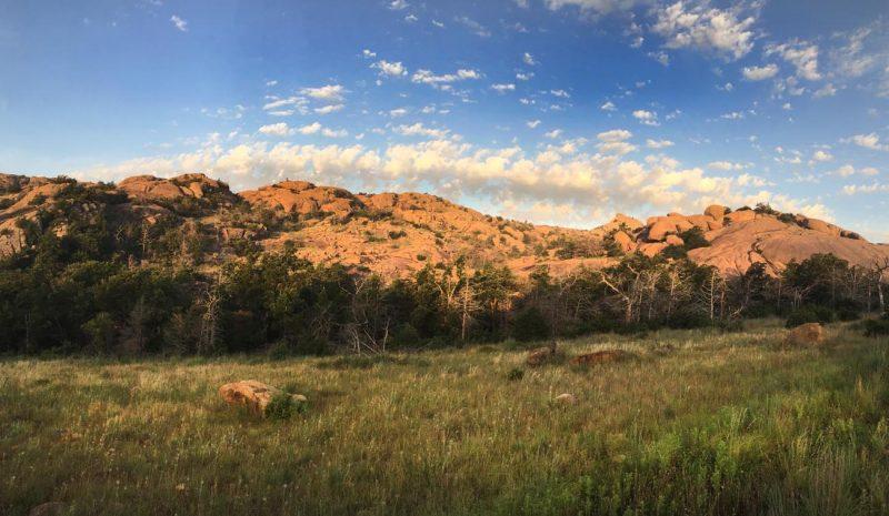 Wichita Mountains National Wildlife Refuge - habitat © Lang Elliott
