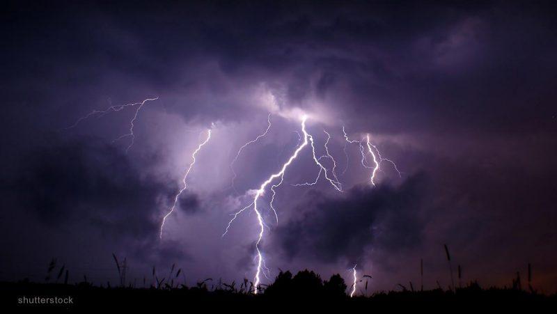 lightning scene - shutterstock_89026090